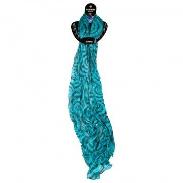 Light Blue Fashion Scarf