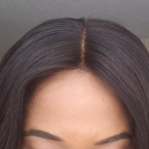 Mongolian Body Wave Closure Install Close-up