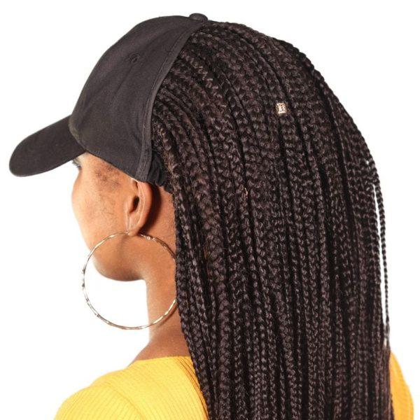 Satin Lined Big Hair Cap