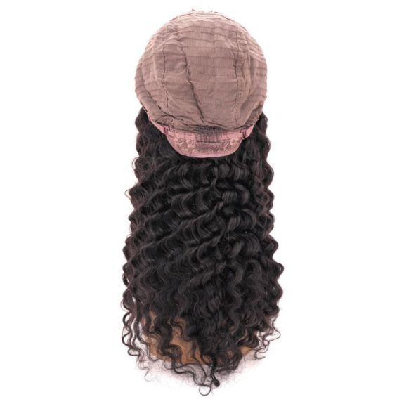 Brazilian Deep Wave U-Part Wig (inside cap back)