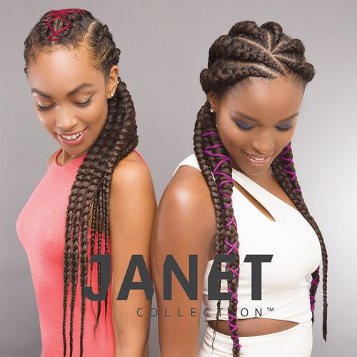 Janet Collection Banana Braids Models