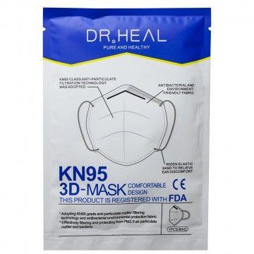 Dr Heal KN95 3D Mask (front pkg)