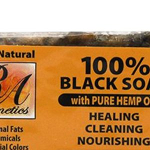 African Black Soap with Hemp Oil Bar