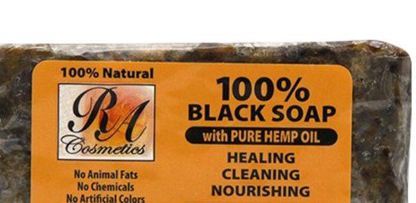 African Black Soap with Hemp Oil Bar