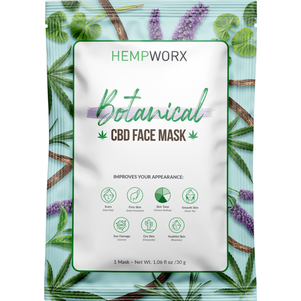 Botanical Face Mask with CBD