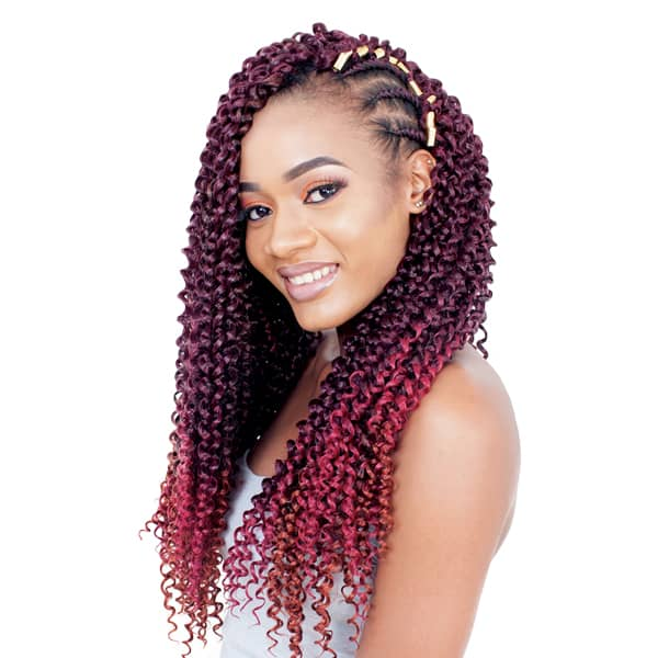 "Jamaica Water Wave Crochet Hair 22"""