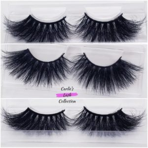 """Abundance"" 25mm 5D Mink Lashes"