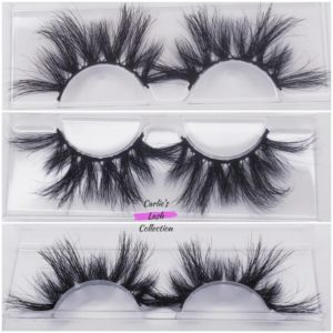 """Bold"" 25mm 5D Mink Lashes"
