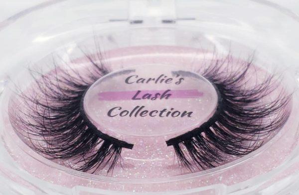 "Profile of ""Exclusive"" 5D Mink Lashes, Carlie's Lash Collection"