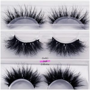 """Kinky"" 25mm 5D Mink Lashes"