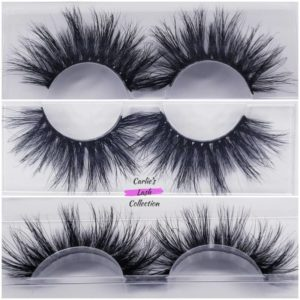 """Kitten"" 25mm 5D Mink Lashes"